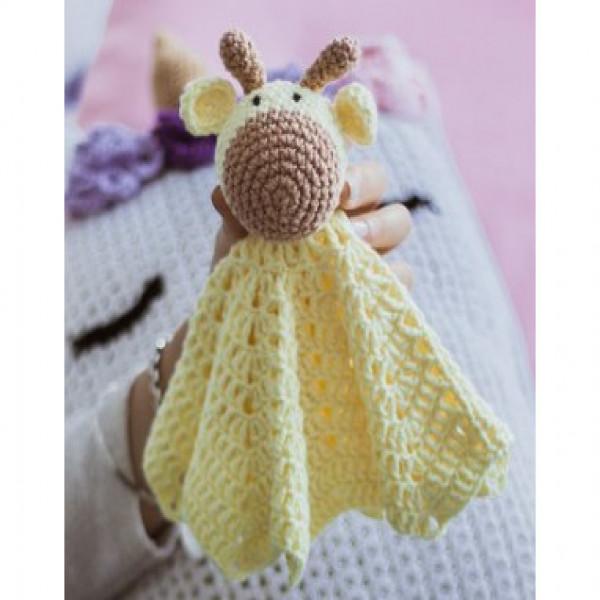 MANTA DE APEGO   jirafa amarilla