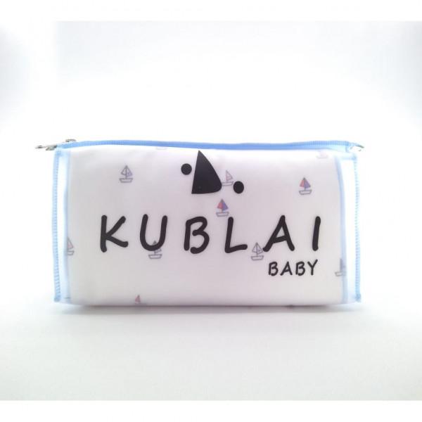 Kit nacimiento en estuche Kublai Blanco celeste barco