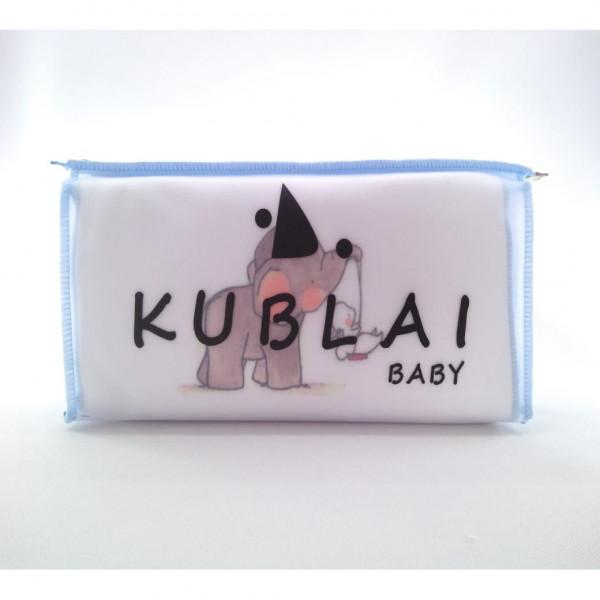 Kit nacimiento en estuche Kublai Blanco celeste elefante