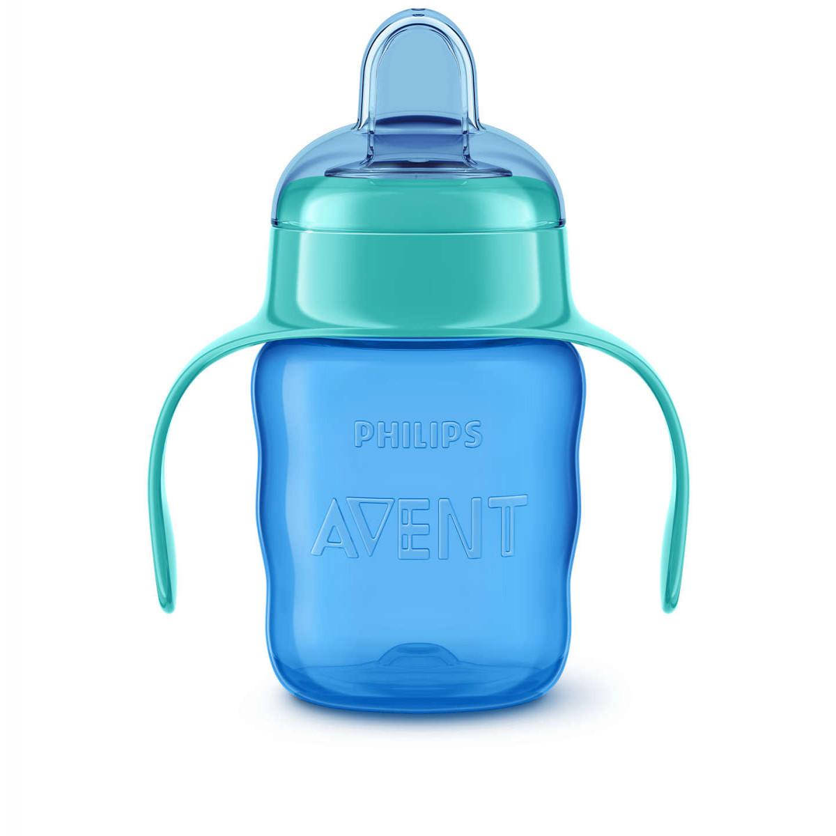 Vaso Easy Sip Cup 200ml Avent azul