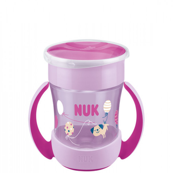 Vaso Magic Cup 6m+ Nuk rosa