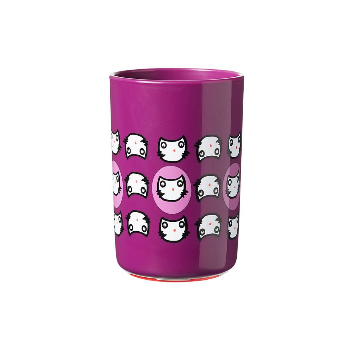 Vaso anti vuelco Tommee Tippee lila
