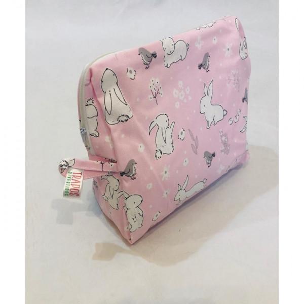 NECESER ORGANIZADOR  Conejo rosa