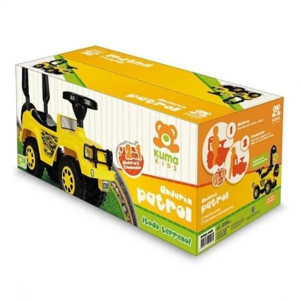Andarin Jeep Patrol  Jeep amarillo