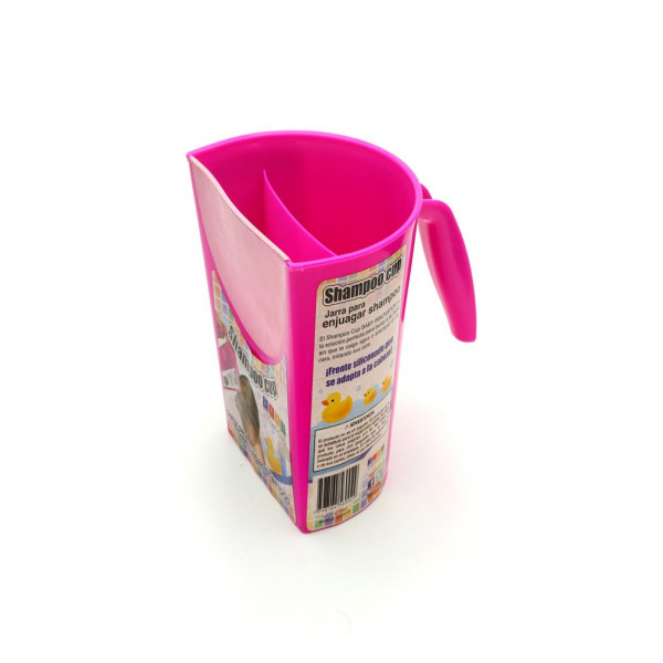 Jarra de enjuague Baby Innovation Fucsia