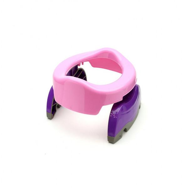 Pelela transportable Baby Innovation Rosa y Violeta