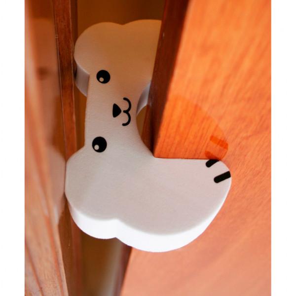 Protector de dedos Baby Innovation Oso Blanco