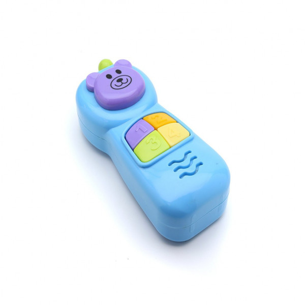 Celular didáctico con luces Baby Innovation Celeste