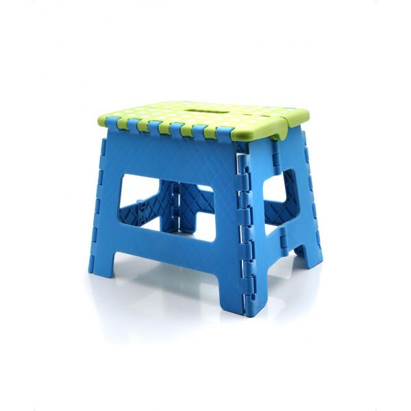 Banquito Plegable Baby Innovation Azul y verde