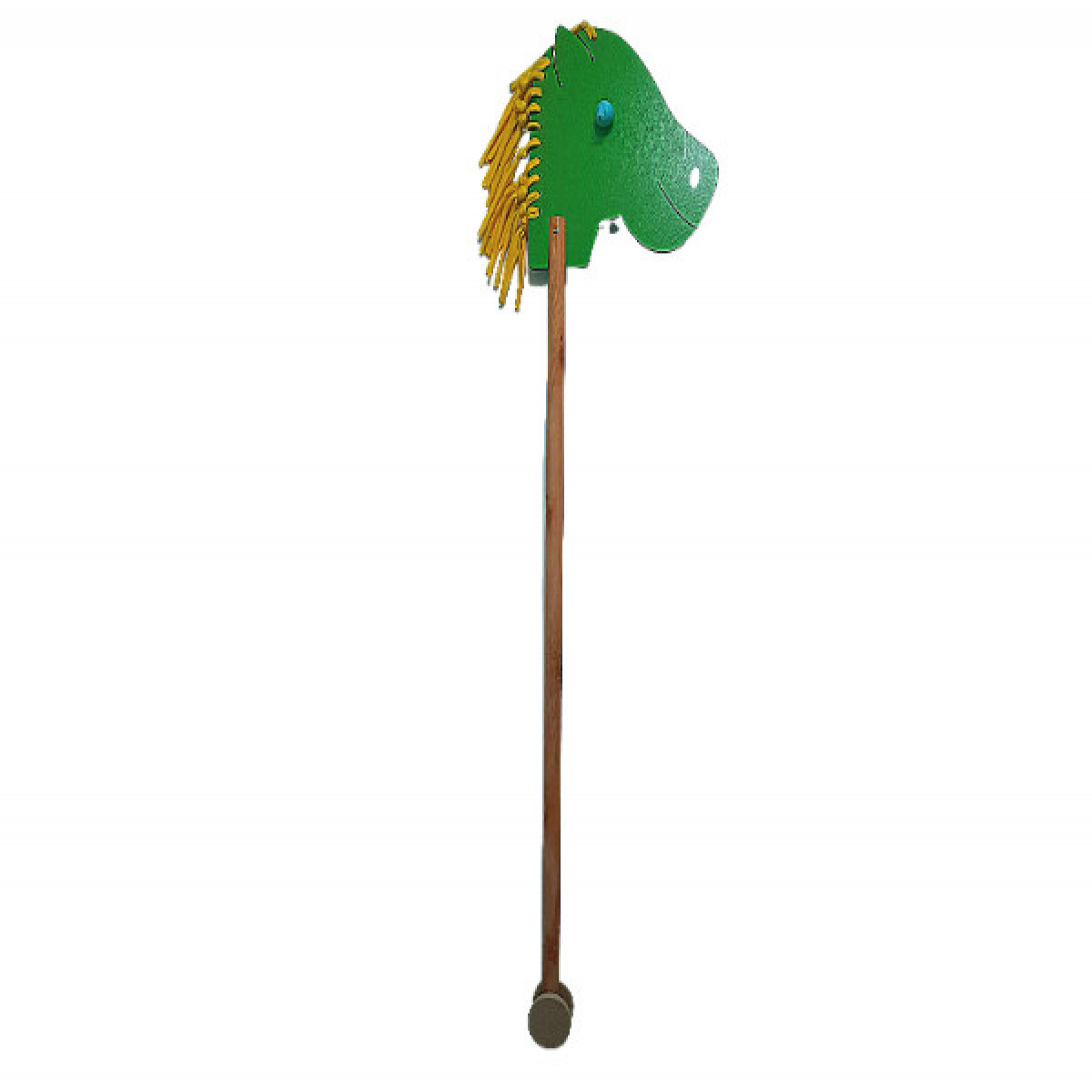 Caballito con rueditas  verde