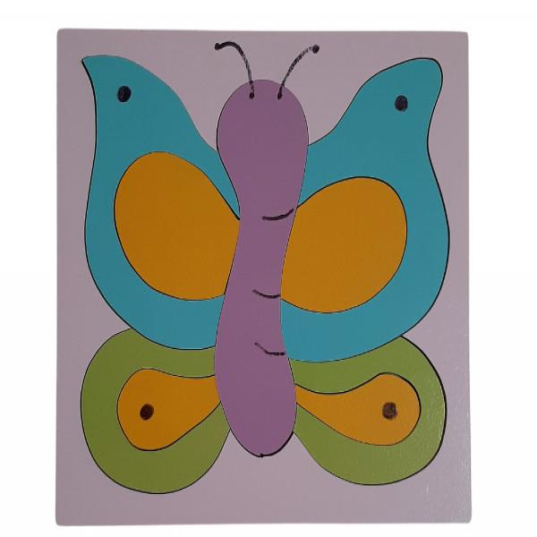 Rompecabezas  Mariposa 1