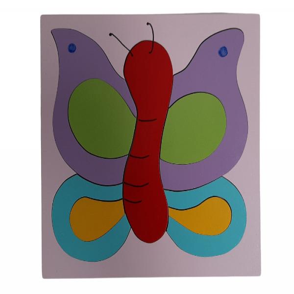 Rompecabezas  Mariposa 2