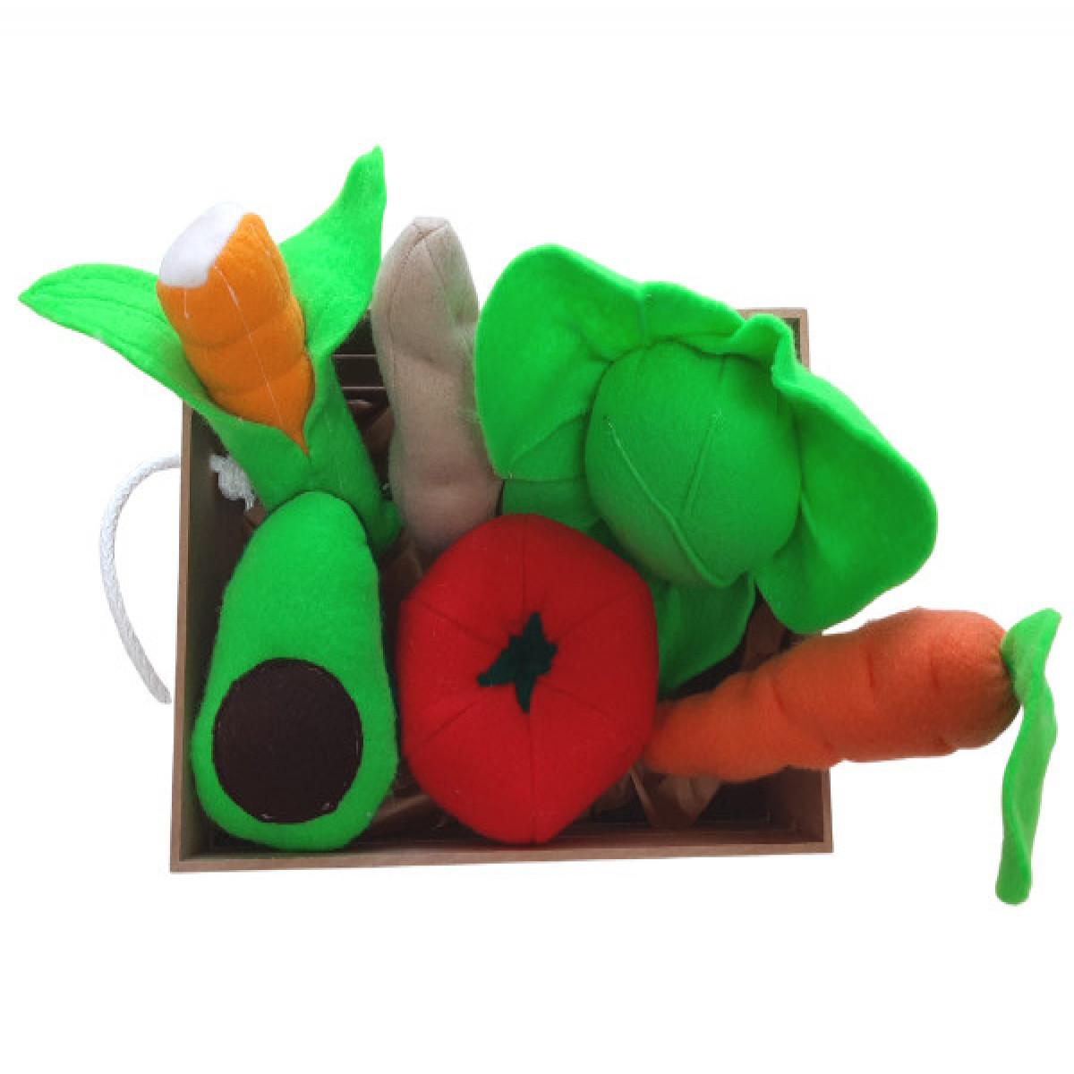 Cajón con verduras