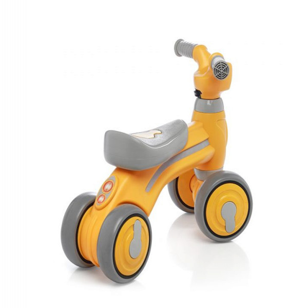 Bici de arrastre Felcraft Amarillo