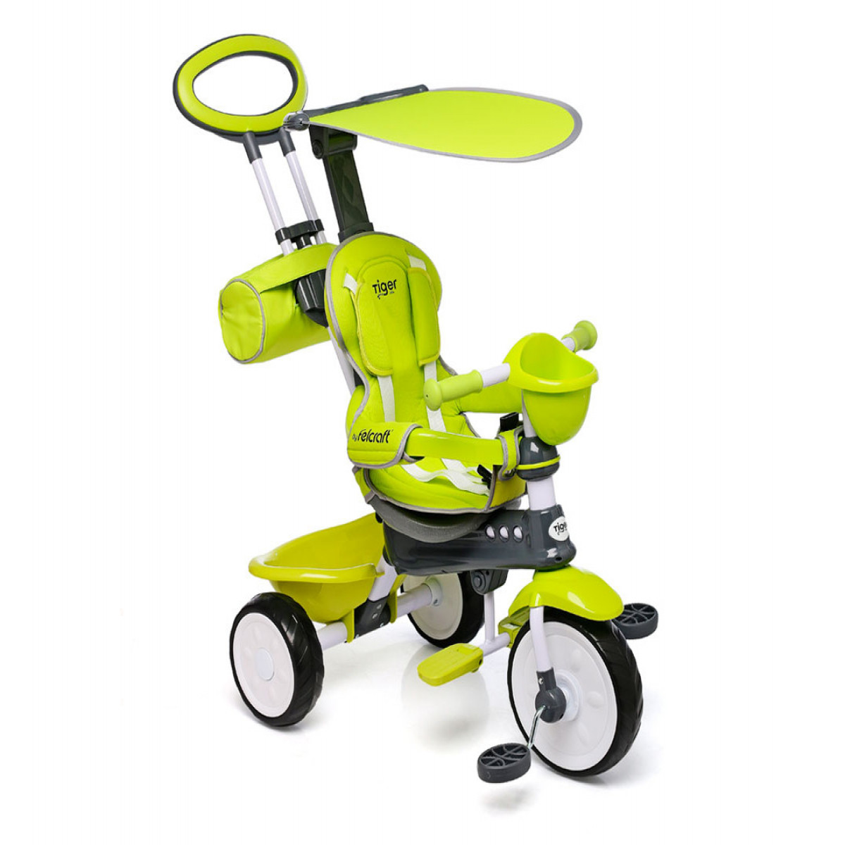 Triciclo Little Tiger Classic Felcraft verde