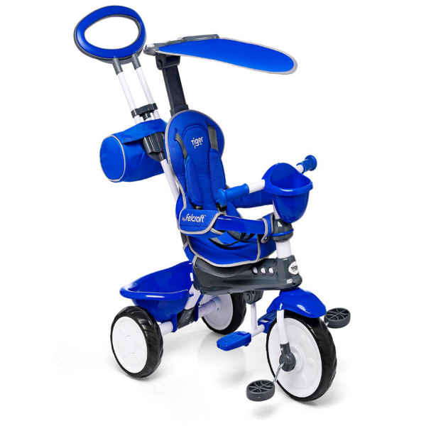 Triciclo Little Tiger Classic Felcraft Azul