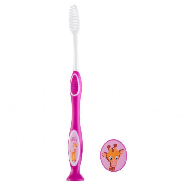 Cepillo de dientes 3-6 años Chicco Violeta