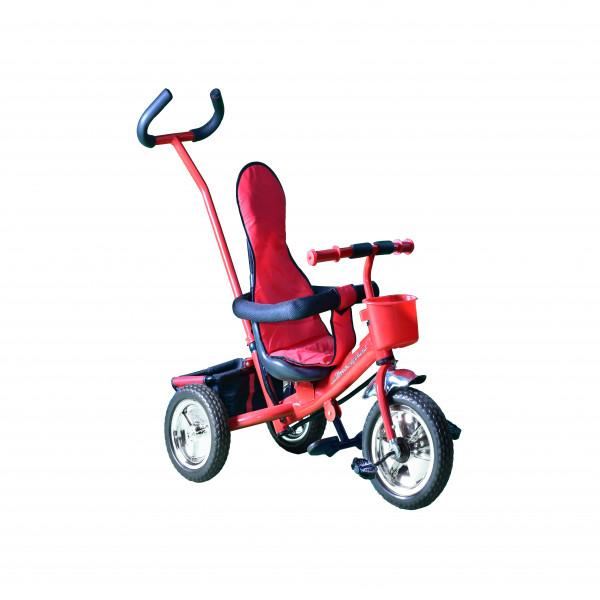 Triciclo metalizado Lamborghini Rojo