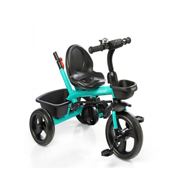 Triciclo Little Tiger Fit Felcraft Aguamarina