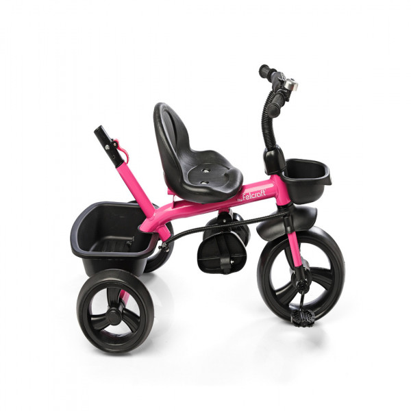 Triciclo Little Tiger Fit Felcraft Rosa