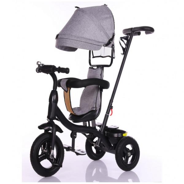 Triciclo Giratorio Moderno  Gris