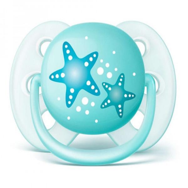 Chupete Ultra Soft 0-6 meses Avent Estrella de mar