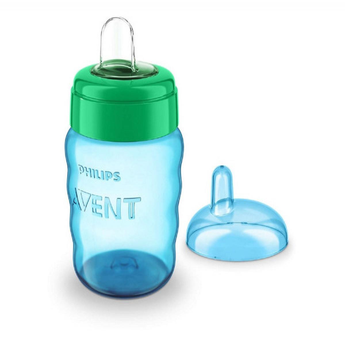 Vaso Easy Sip 260ml Avent azul