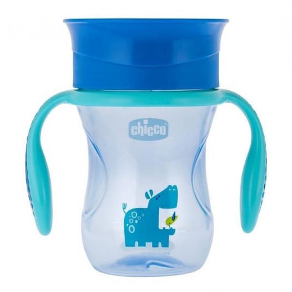 Vaso Perfect Cup Chicco Azul
