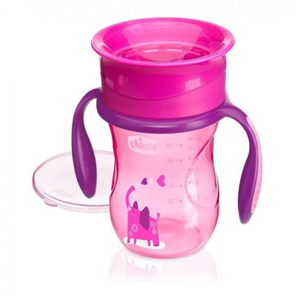 Vaso Perfect Cup Chicco Rosa