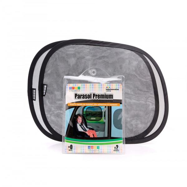 Parasol para auto Premium Baby Innovation Negro Translucido