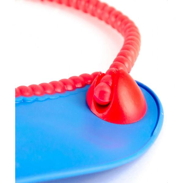 Babero de silicona Baby Innovation Azul