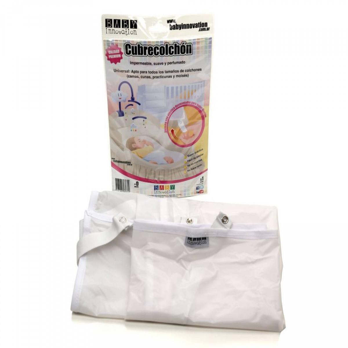 Cubre colchón Baby Innovation blanco