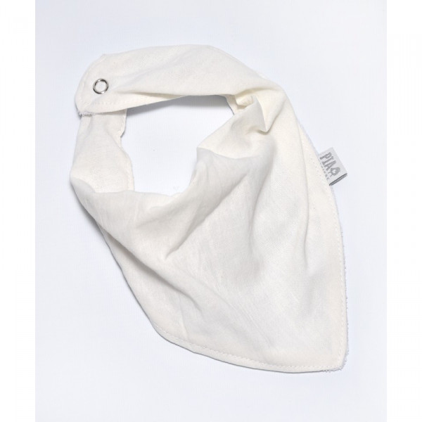 Babero bandana  Natural