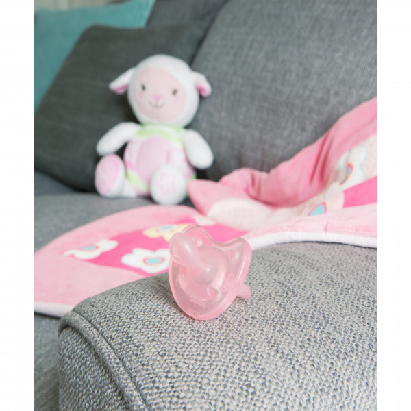 Chupete PhysioForma Soft 0-6 m+  Chicco Rosa
