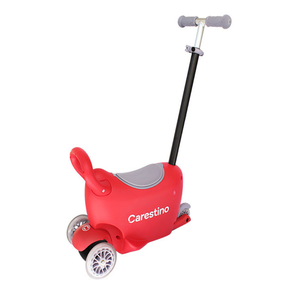 Scooter 3 en 1 Carestino rojo