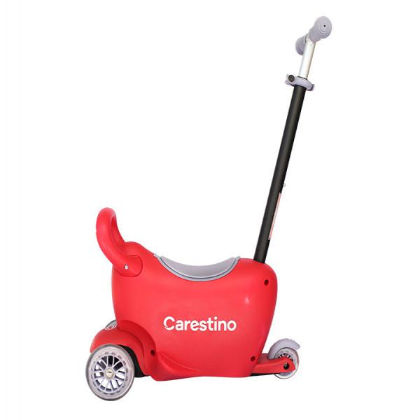 Scooter 3 en 1 Carestino Roja
