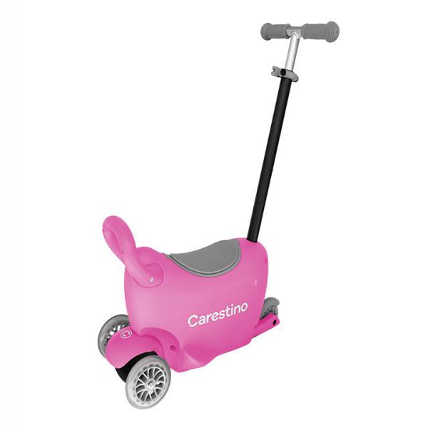 Scooter 3 en 1 Carestino Rosa
