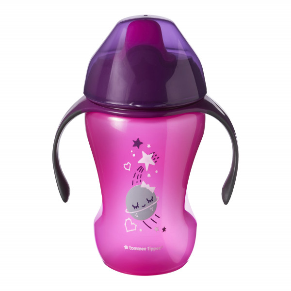 VASOS  TRAINER SIPPEE 230 ML Tommee Tippee Fucsia
