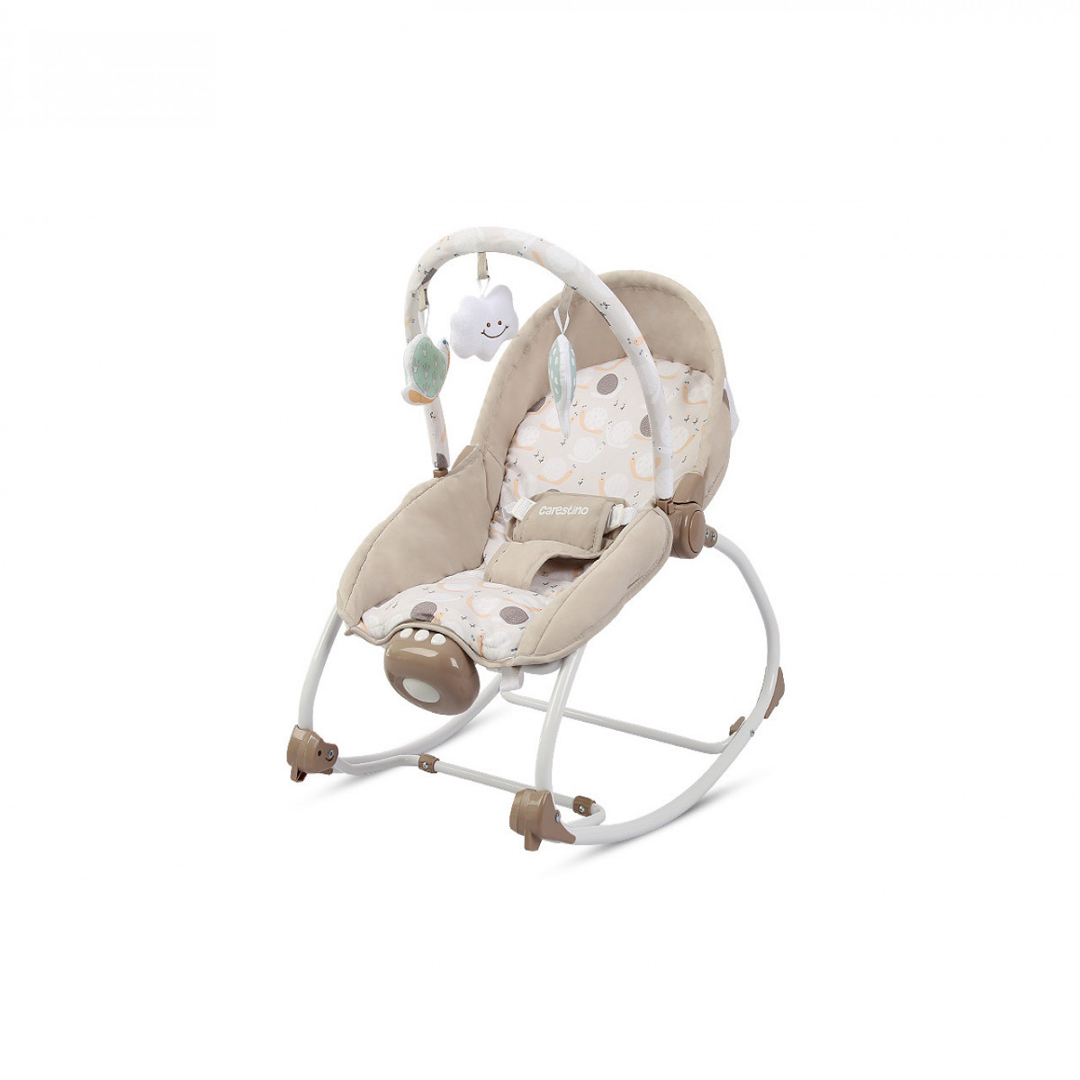Mecedora musical Carestino beige